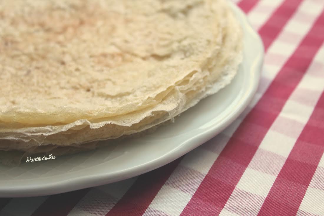 Receta tradicional gallega filloas