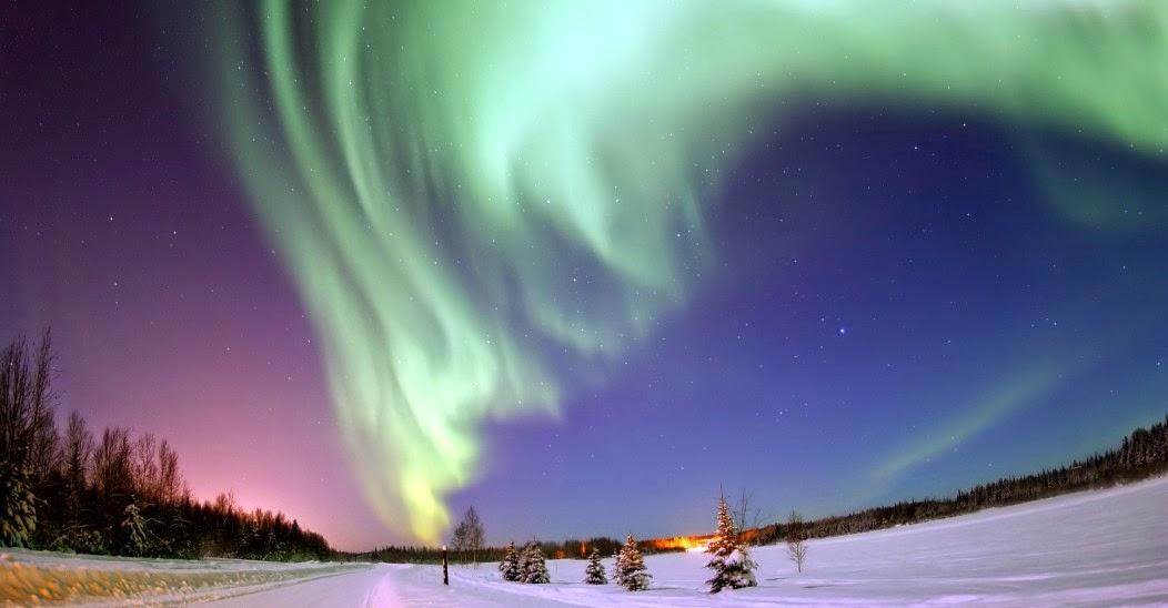 Auroras polares y cinturones de Van Allen