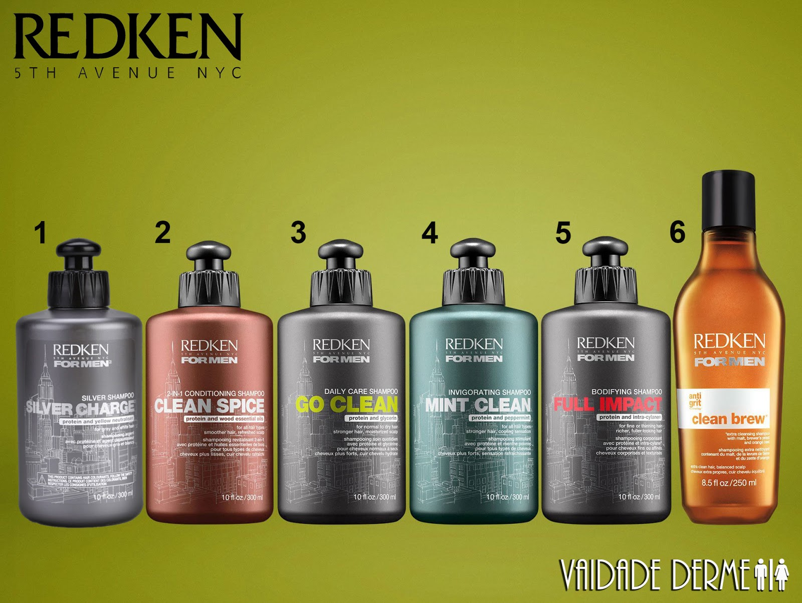 Redken For Men Full Shampoo