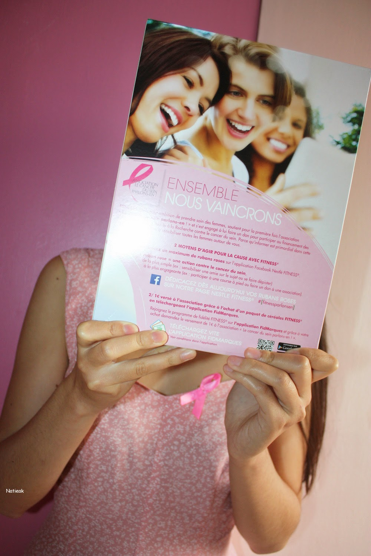 Octobre rose luttons contre le cancer ambassadrice Fitness