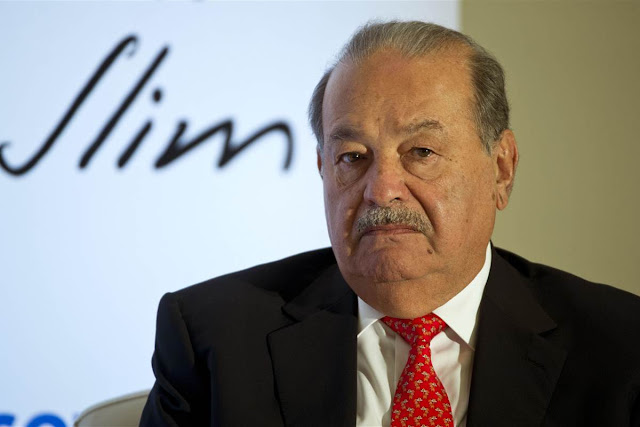 Carlos Slim Net Worth- $49.6 Billion