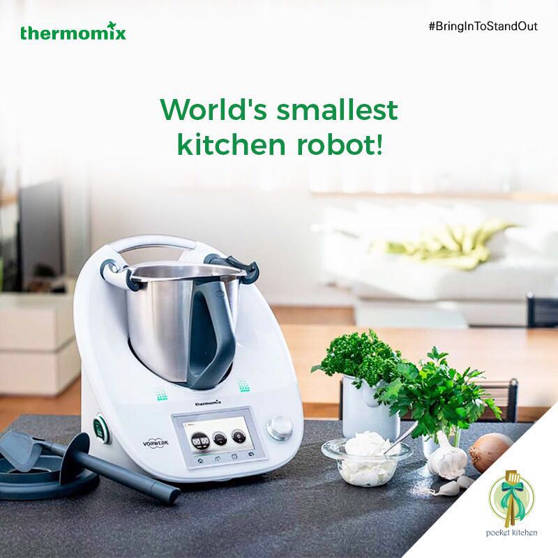 kitchen robot build island your home cooking is this an appliance a machine gadget nope thermomix one stop assistant that s all you ll need