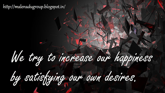 Desire Quotations on Happiness