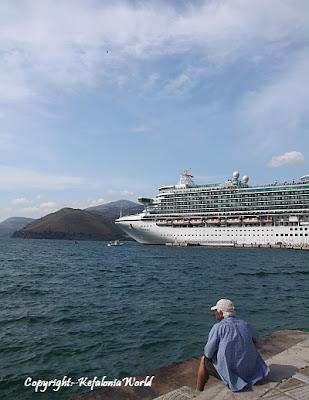 cruise ship Argostoli Kefalonia