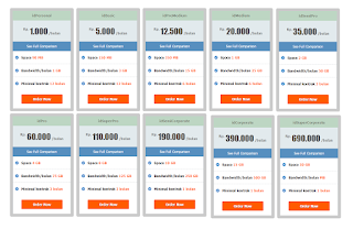 Daftar Harga Hosting di Id webhost
