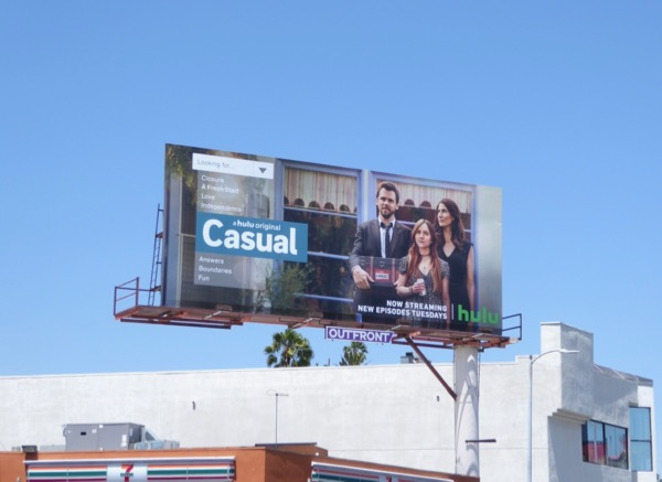 Casual season 3 Hulu billboard