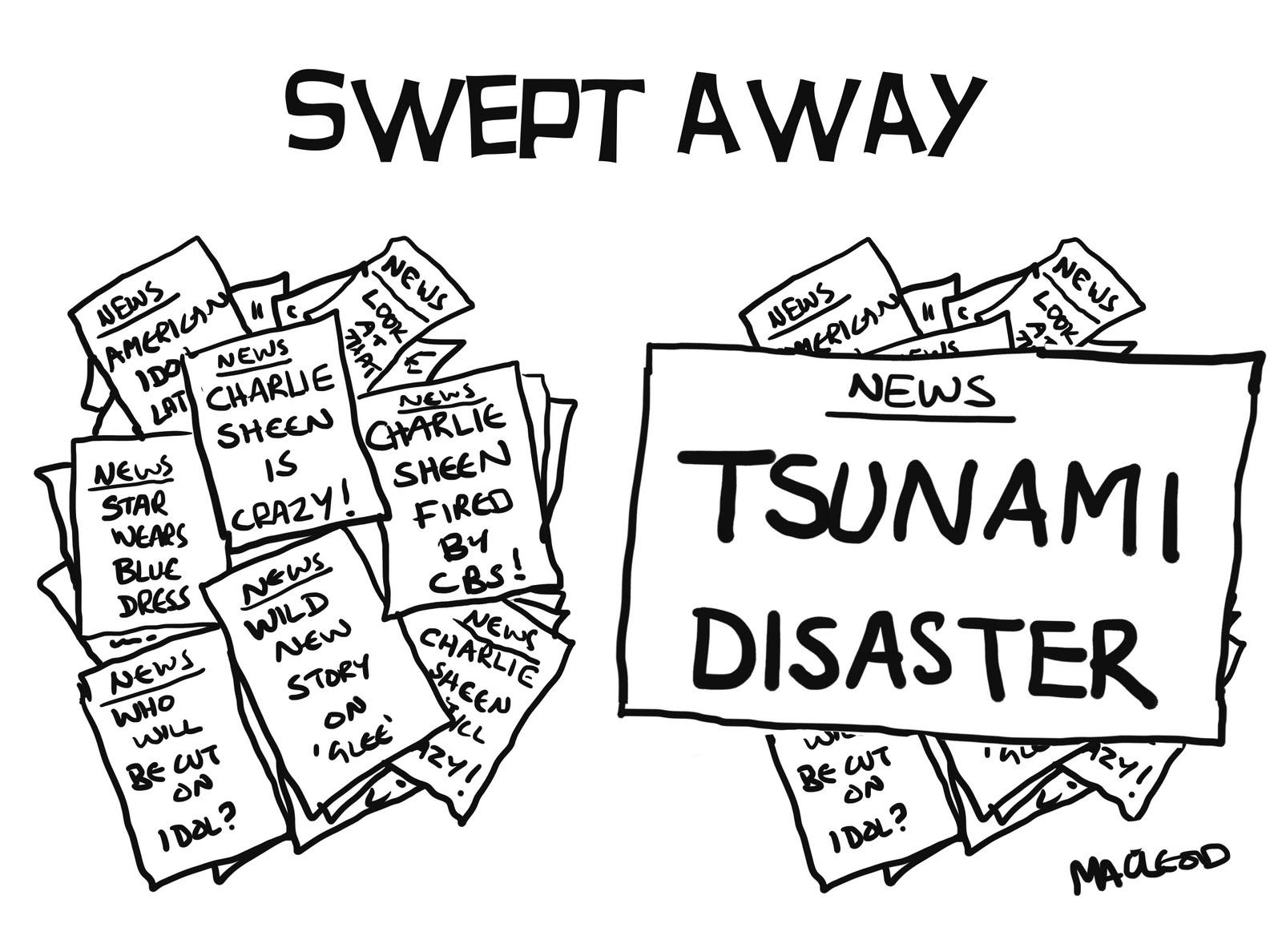 Tsunami Wave Coloring Page Sketch Coloring Page