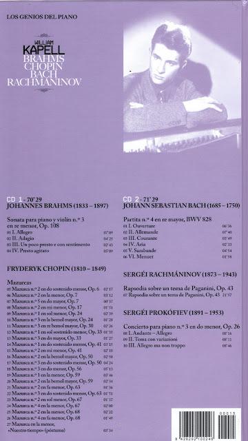 Genios del Piano-15-William Kapell-trasera