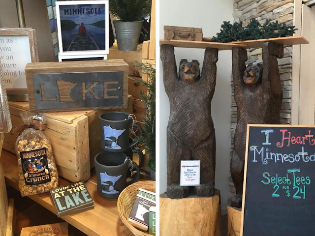 Minnesota made giftables at I Heart Minnesota at Mall of America