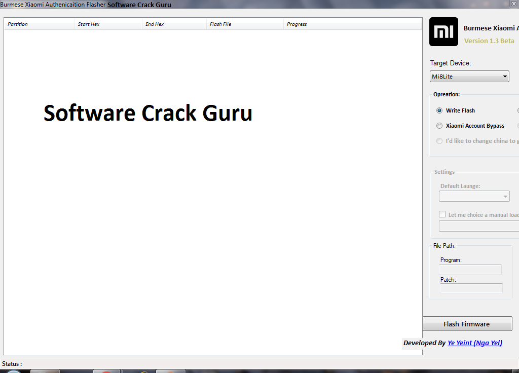 Burmese Xiaomi Authentication Flasher Tool v13 Beta Free Download  Software Crack Guru