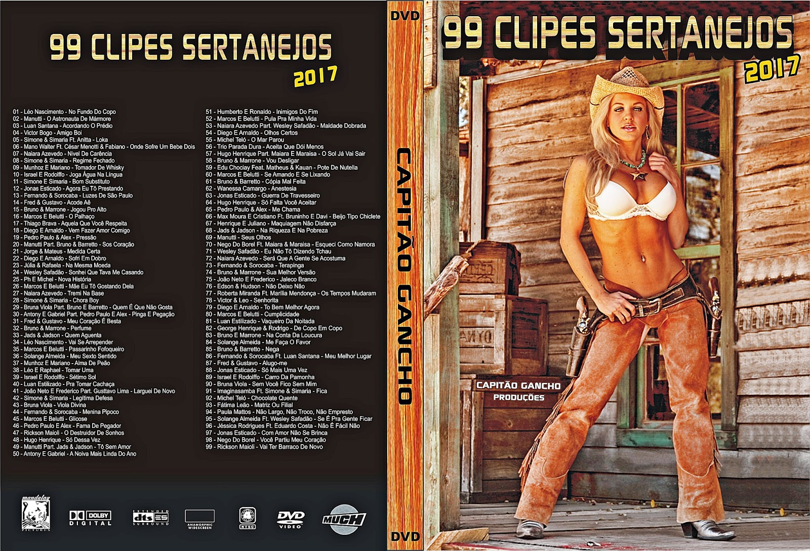 brasil sertanejo 99 clipes 2011 dvd-r