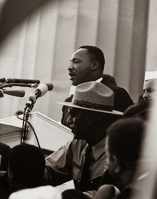 Martin Luther King and Edward B Footmon.Civil Rights March on Washington, D.C.
