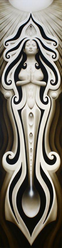 énergie féminine | Artwork A. Andrew Gonzalez