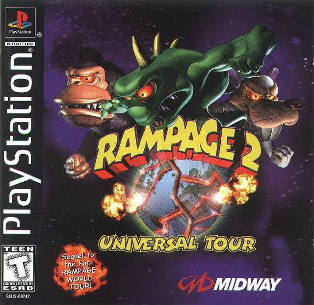 Rampage 2 - Universal Tour - PS1 - ISOs Download