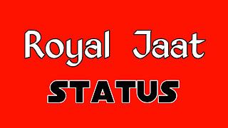 Royal jaat status photo