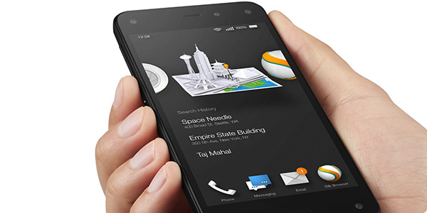 Amazon Fire Phone with One Year of Prime offered for $159