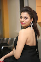 Priyanka in Sleeveless Black Slim Dress Spicy Pics ~  Exclusive 19.JPG