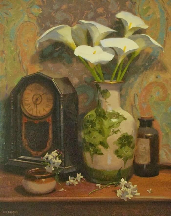 Пейзажи и цветочные натюрморты. Laurie Kersey