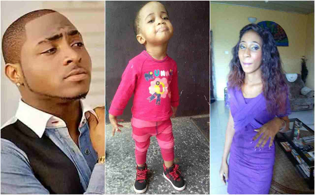 Here are photos of the baby and lady alleged to be Davido's third baby mama (full gist)