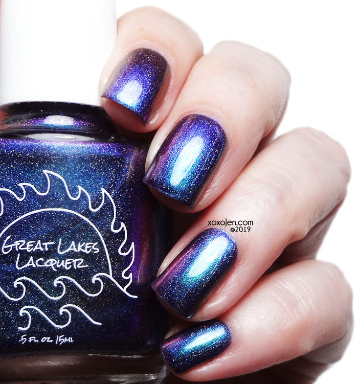 xoxoJen's swatch of Great Lakes Lacquer Alternative Lipstick v2
