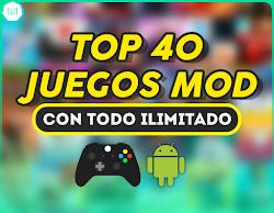 TOP 40 JUEGOS MOD DICIEMBRE 2018