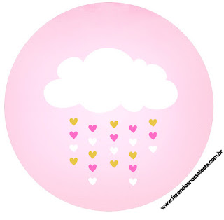 Blesing Rain for Girls Toppers or Free Printable Candy Bar Labels.