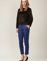 Pantaloni femei, conici, simpli, Moja (Moja)