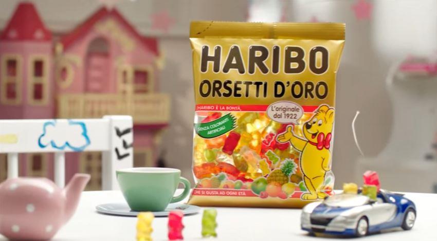 Canzone Haribo pubblicità Orsetti d'Oro | Rotella con ragazzina e i suoi genitori - Musica spot Dicembre 2016