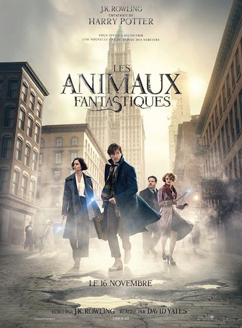 Film Les Animaux Fantastiques L'Agenda Mensuel - Novembre 2016