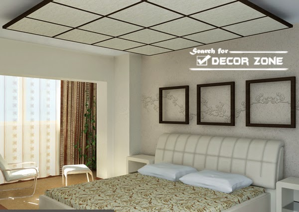 50 False Ceiling Designs on beautiful bedroom interior designs