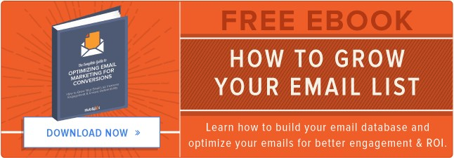 Building Your Mailing List with Downloads