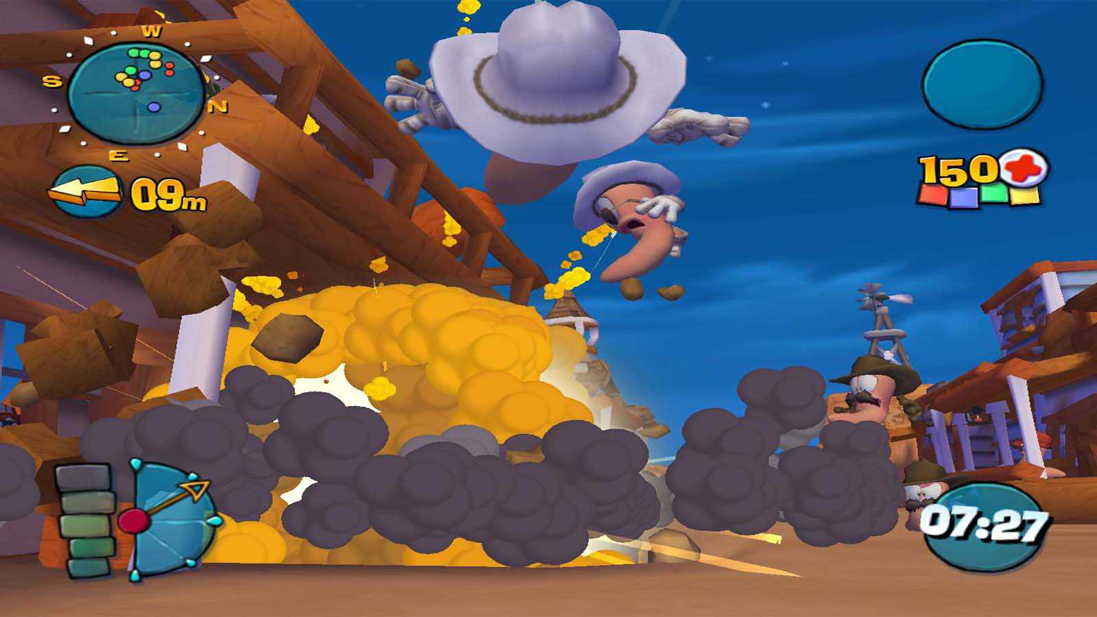 تحميل لعبة Worms 4 Mayhem مضغوطة برابط واحد مباشر كاملة مجانا
