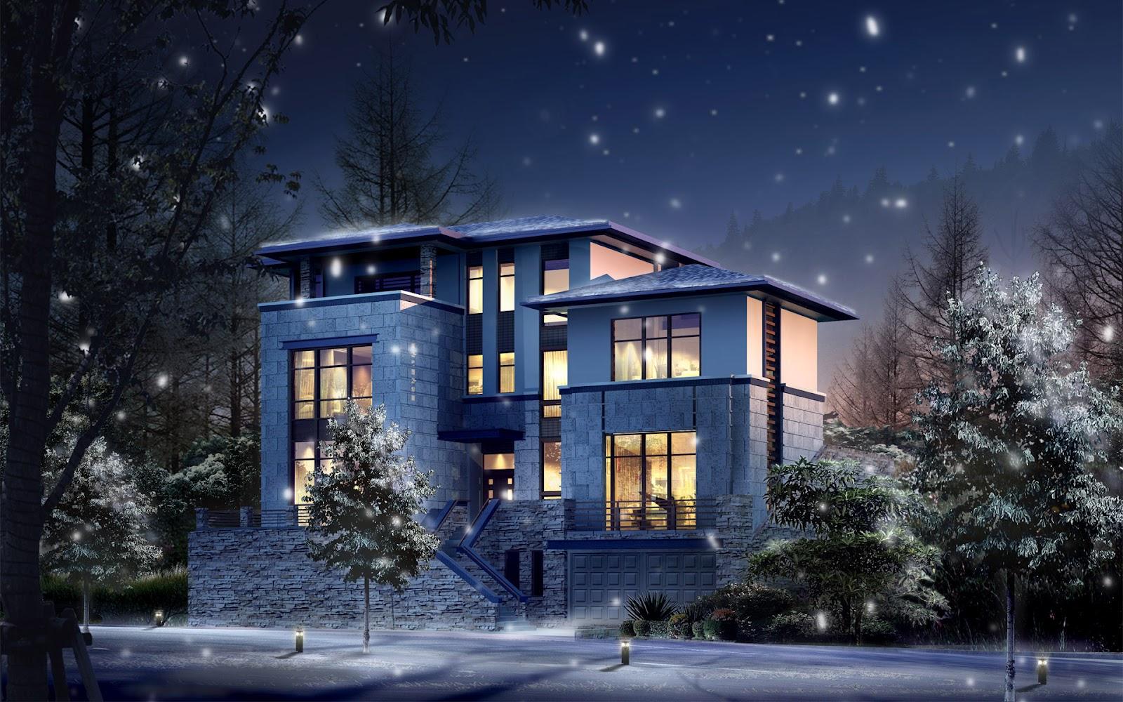3d huizen wallpapers hd wallpapers. Black Bedroom Furniture Sets. Home Design Ideas
