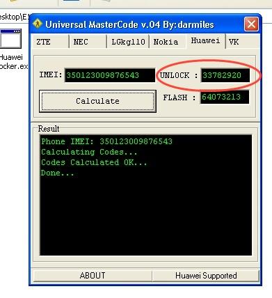 Unlock Idea 3G NetSetter Modem Huawei E1550 - 1001 Tricks