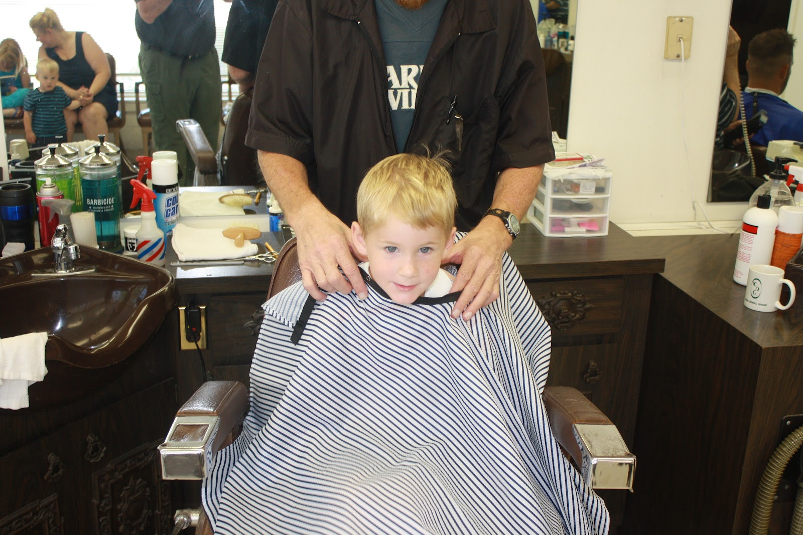 little boy chairs plans for adirondack her ways summer 2012 day 7 hair cuts