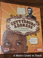 Gettysburg, Lincoln, Children's Books, History Books