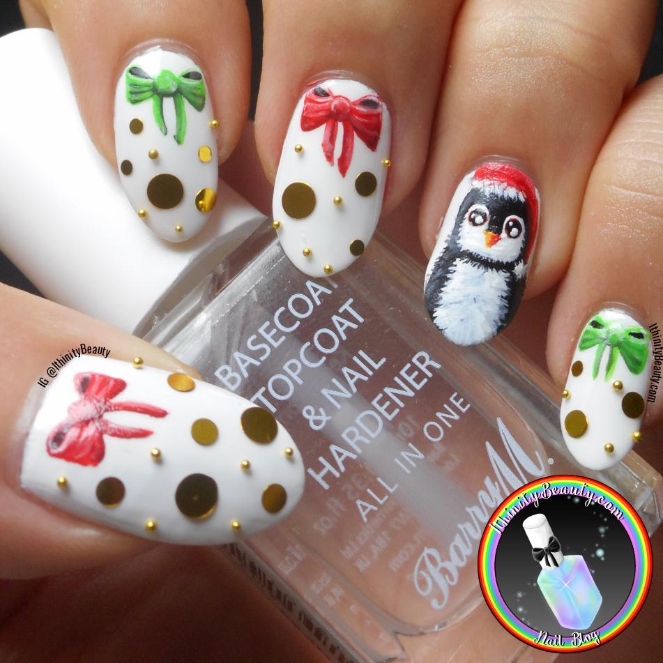 Penguin Bling Nail Art Ithinitybeauty Nail Art Blog