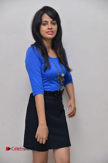 Actress Nandita Swetha Stills in Black Mini Skirt at Ekkadiki Potavu Chinnavada Movie Special Show  0015.JPG