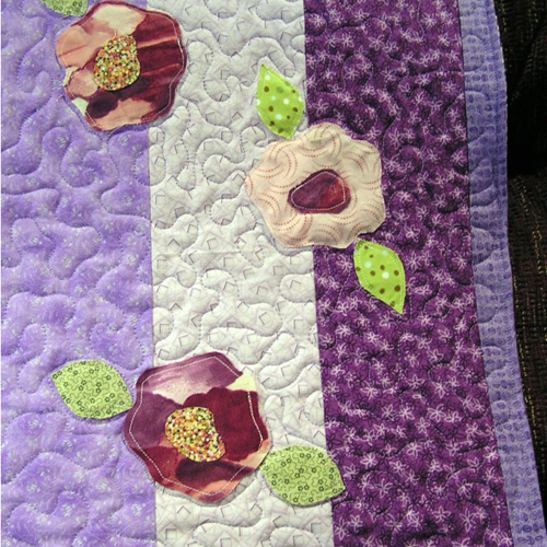 Raw edge applique - Tutorial