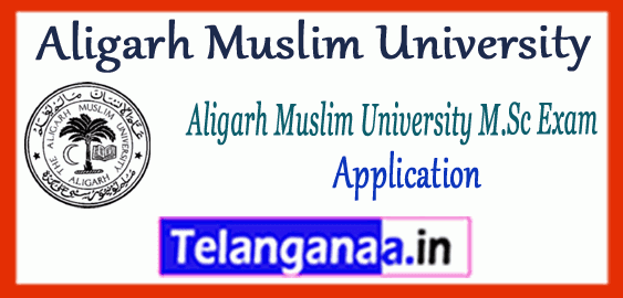 AMU Aligarh Muslim University M.Sc Application 2019 Notification Syllabus
