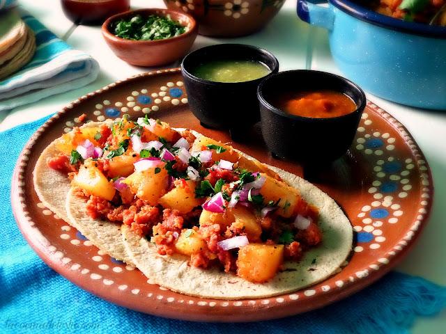 Easy Tacos al Pastor - lacocinadeleslie.com