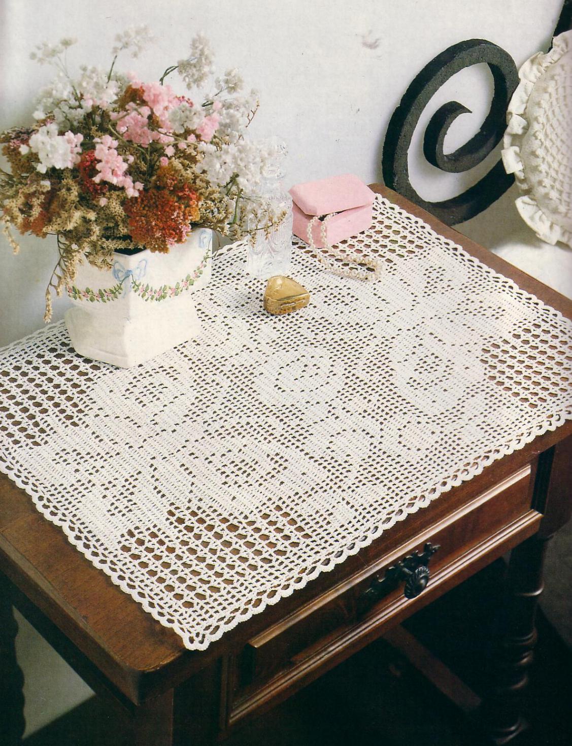 Crochet Free Pattern Pineapple Runner Crochet Club