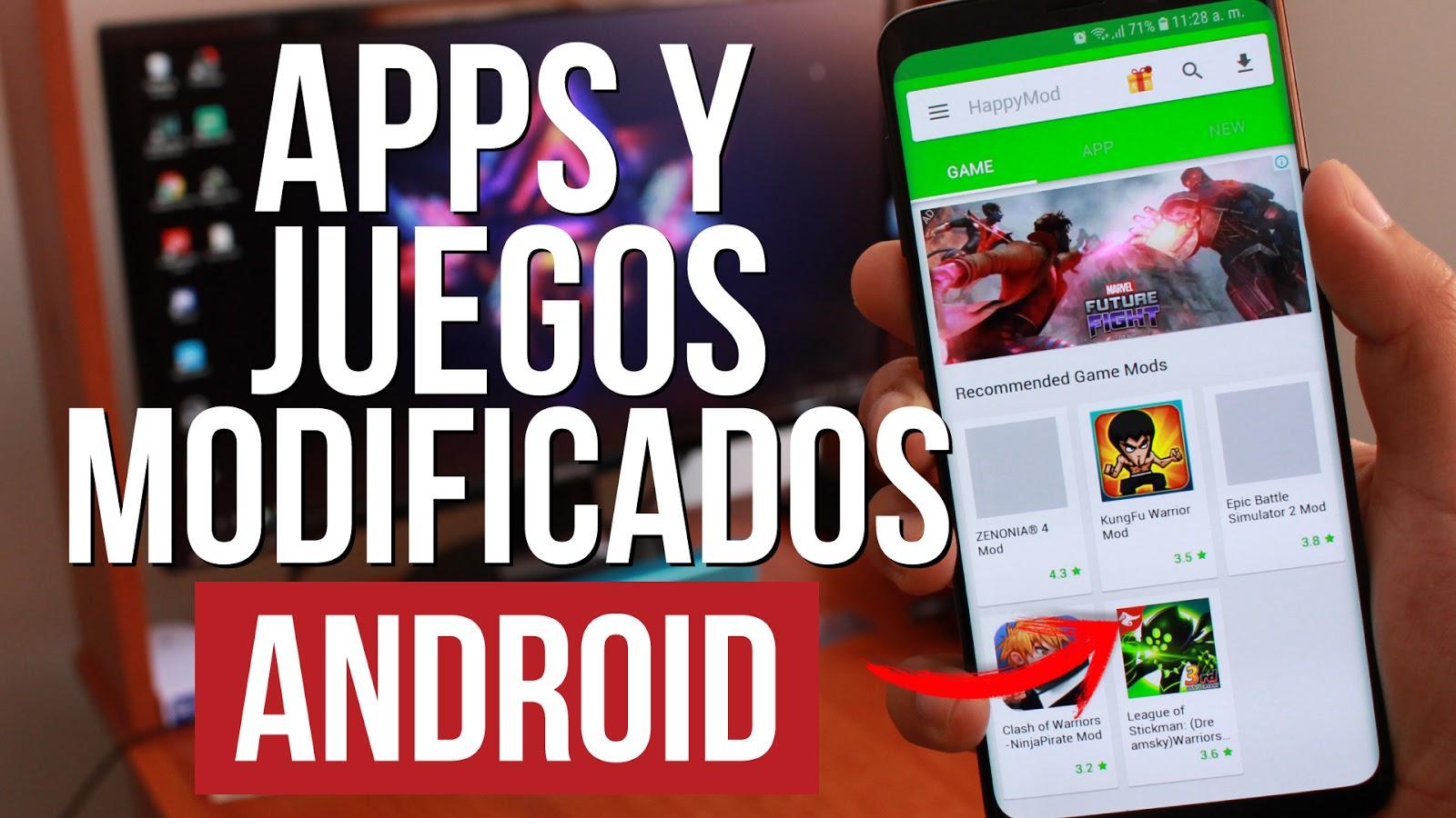 Descarga Juegos Hackeados Android Con Todo Ilimitado Gratis Jeac