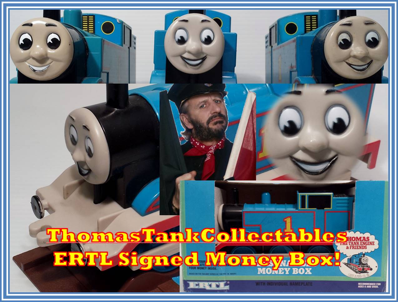 Thomas The Tank Engine And Railway Series Merchandise For A Long Time Now I Cant Say Have Ever Come Across Any Signed By Ringo Starr
