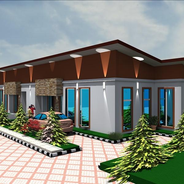3-Bedroom-Semi-Detached-Bungalows-Casavilla-Estate-Magboro