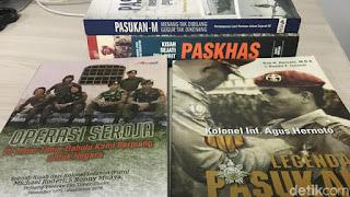 Buku Operasi Seroja dan Legenda KopassusBuku Operasi Seroja dan Legenda Pasukan Komando Foto: sudrajat