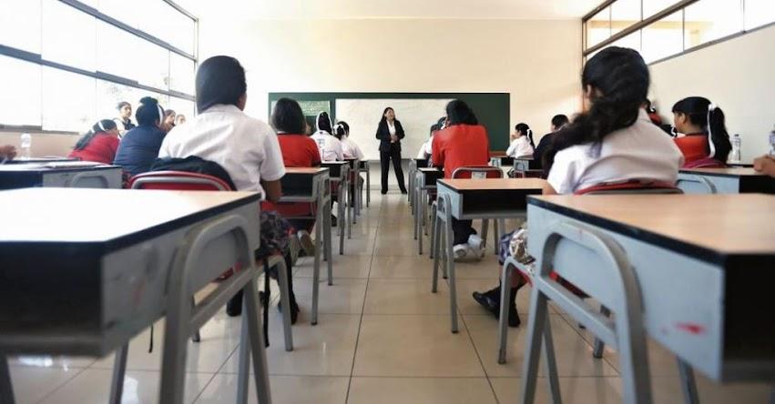 MINEDU definirá en marzo si estudiantes de todo secundaria serán evaluados con sistema de letras