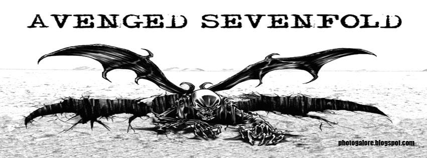 Avenged Sevenfold Facebook Cover 01