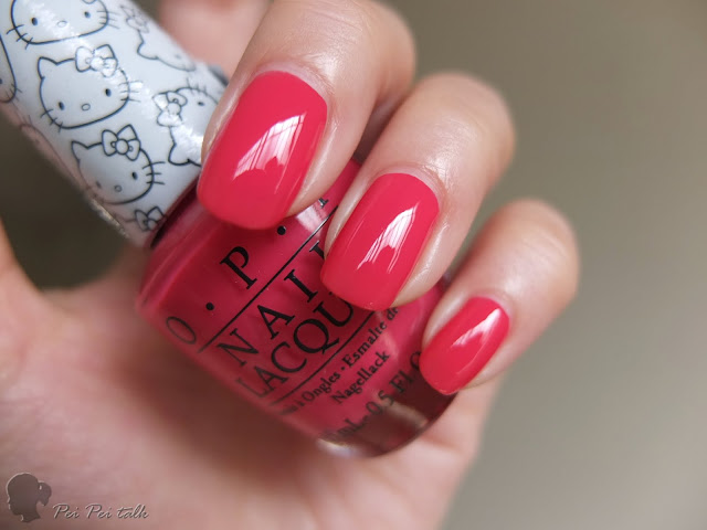OPI 指甲油-NLH85-Spoken from the Heart-試色