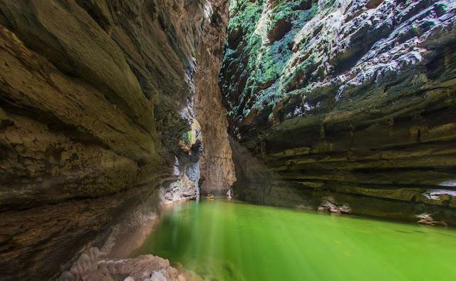El arco natural más alto del mundo está en Chiapas